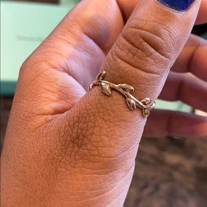 Tiffany & Co. Jewelry - Tiffany & Co Rose Gold Olive Leaf Ring